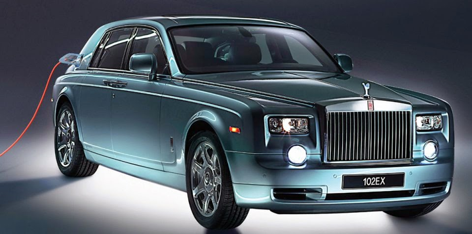 Rolls Royce 102EX HD Wallpaper