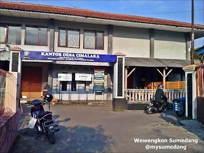 Kantor Desa Cimalaka, Kab. Sumedang