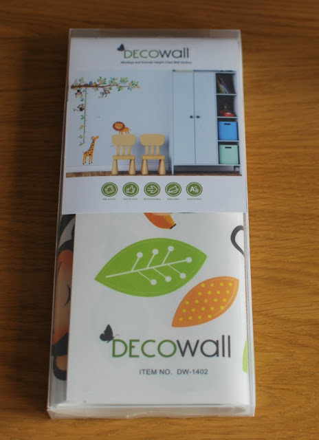 Packet of Decowall wall stickers