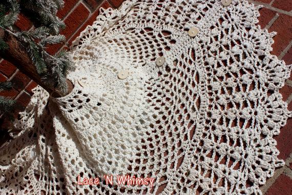 Christmas Tree Skirt Crochet