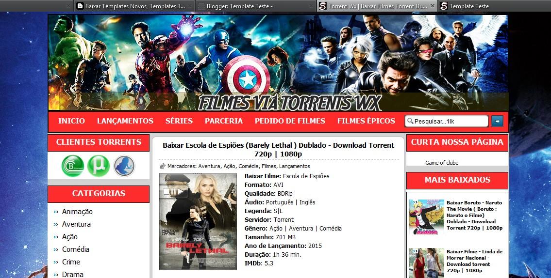 Tag; download de filmes via torrent.
