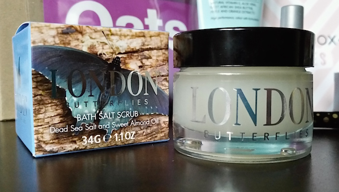 London Butterflies Dead Sea Salt & Sweet Almond Oil Bath Scrub - Birchbox February 2015