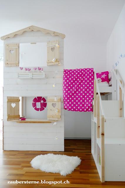 Kids Room, Kinderzimmer, DIY Hochbett, Girls Room, Blog Schweiz, Familieblog Schweiz