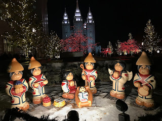 Cultural Nativities and Creche Displays: Christmas at Temple Square