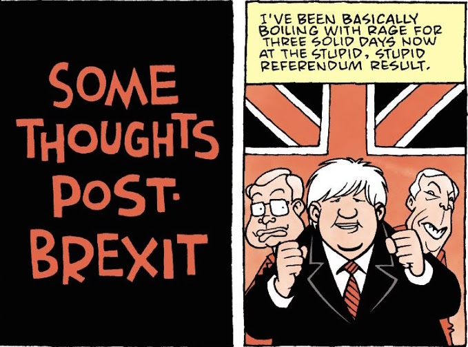 Some Thoughts Pst-Brexit, by Roger Langridge.