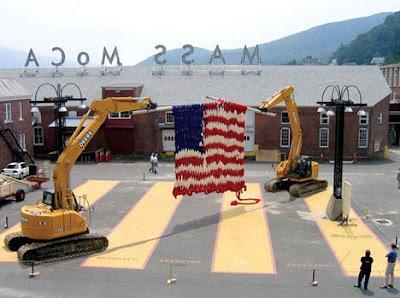Bandera gigante de Estados Unidos