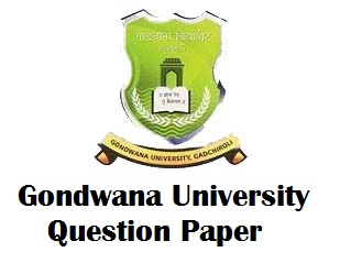 Gondwana University Gadchiroli Question Paper
