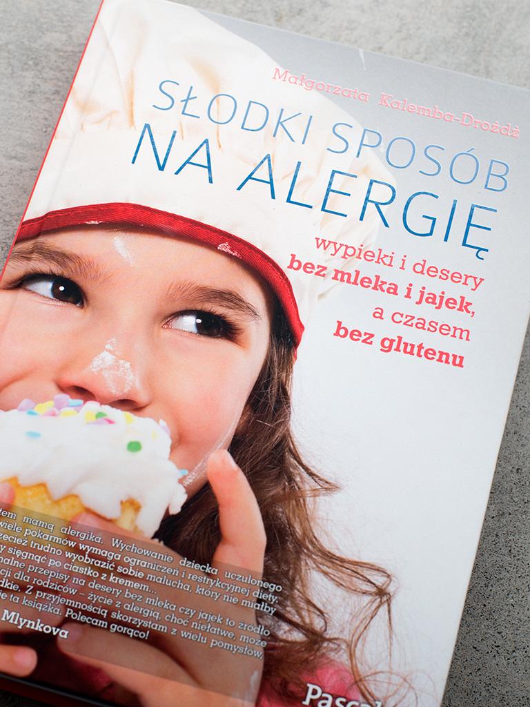 """Recenzja - """"Słodki sposób na alergię"""" Małgorzata Kalemba-Drożdż"""