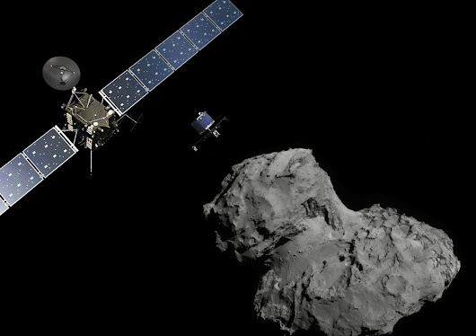 Philae: despertando sobre 67P/Churyumov-Gerasimenko.