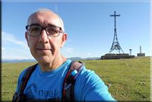 Ganalto mendiaren gailurra 898 m. - 2018ko ekainaren 10an