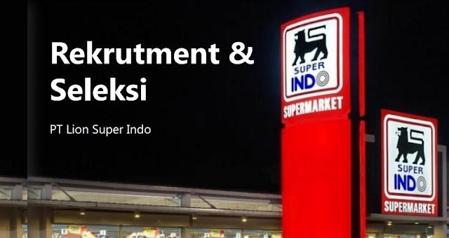 PT Lion Super Indo Buka Lowongan Kerja Bagian Drafter Staff (Lulusan SMA/SMK/Setara)