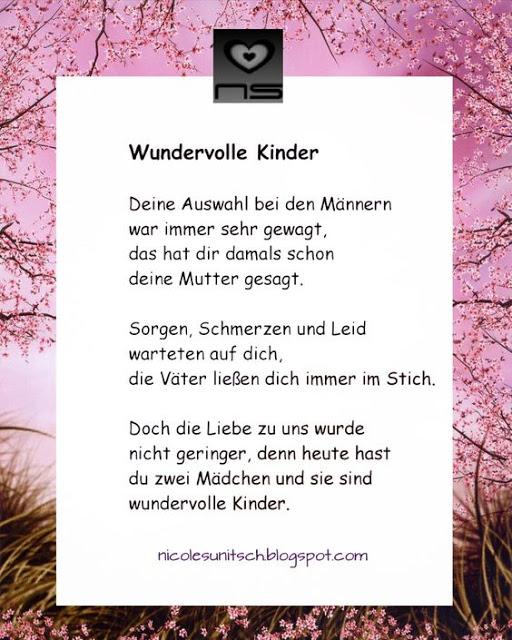 Gedichte Von Nicole Sunitsch Autorin Wundervolle Kinder Aus