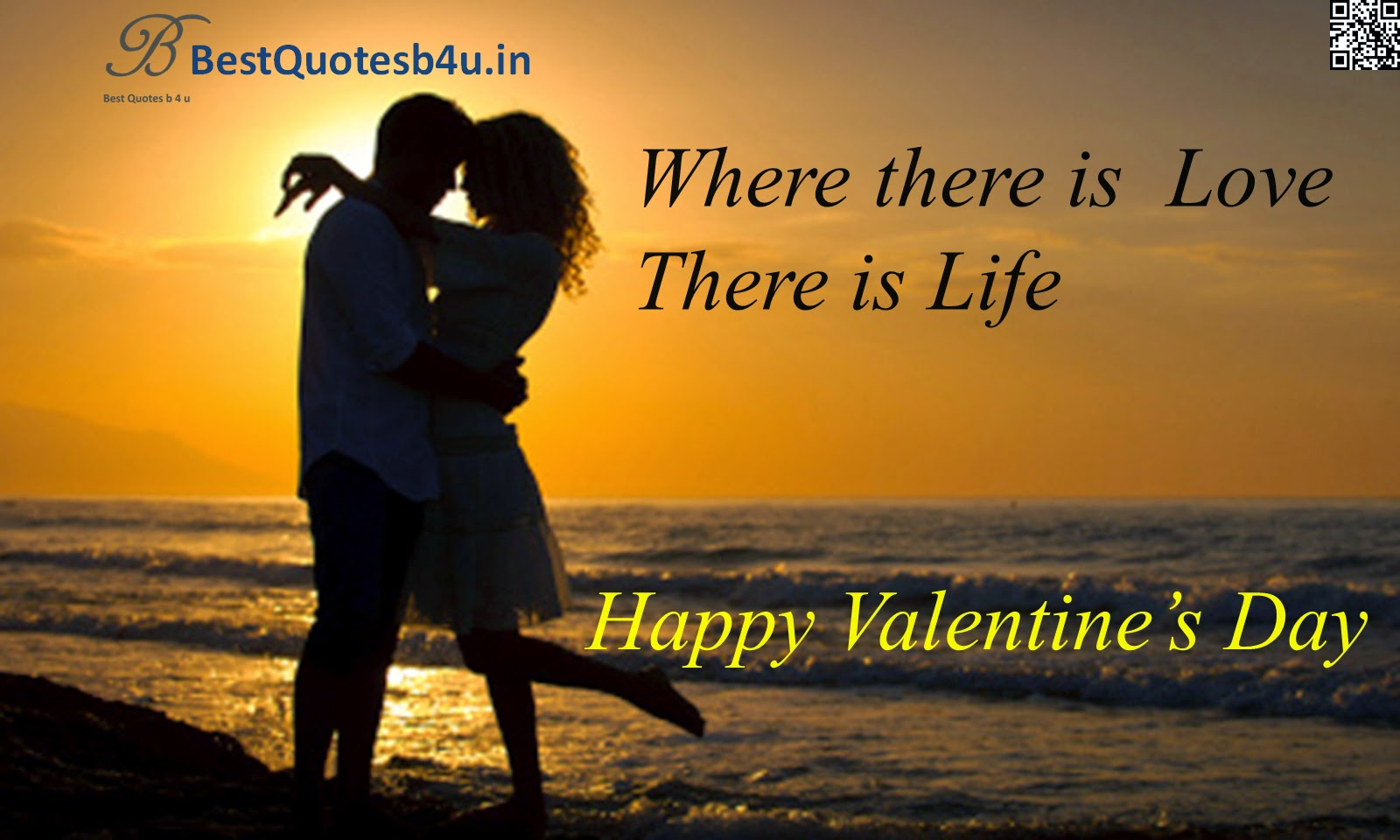 Valentine's Day Love Quotes Greetings Wishes HD Wallpapers