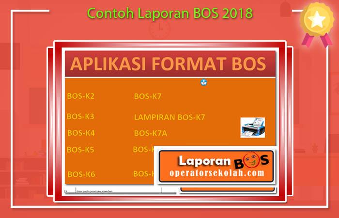 Contoh Laporan BOS 2018