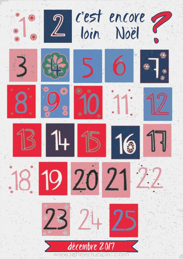 calendrier de l'avent, Noël, FLE, le FLE en 'clic'