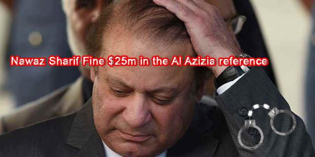 Nawaz Sharif Fine