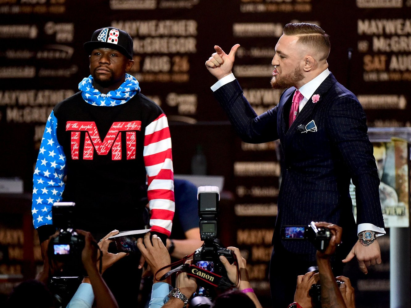 FLOYD MAYWEATHER VS. CONOR MCGREGOR 3