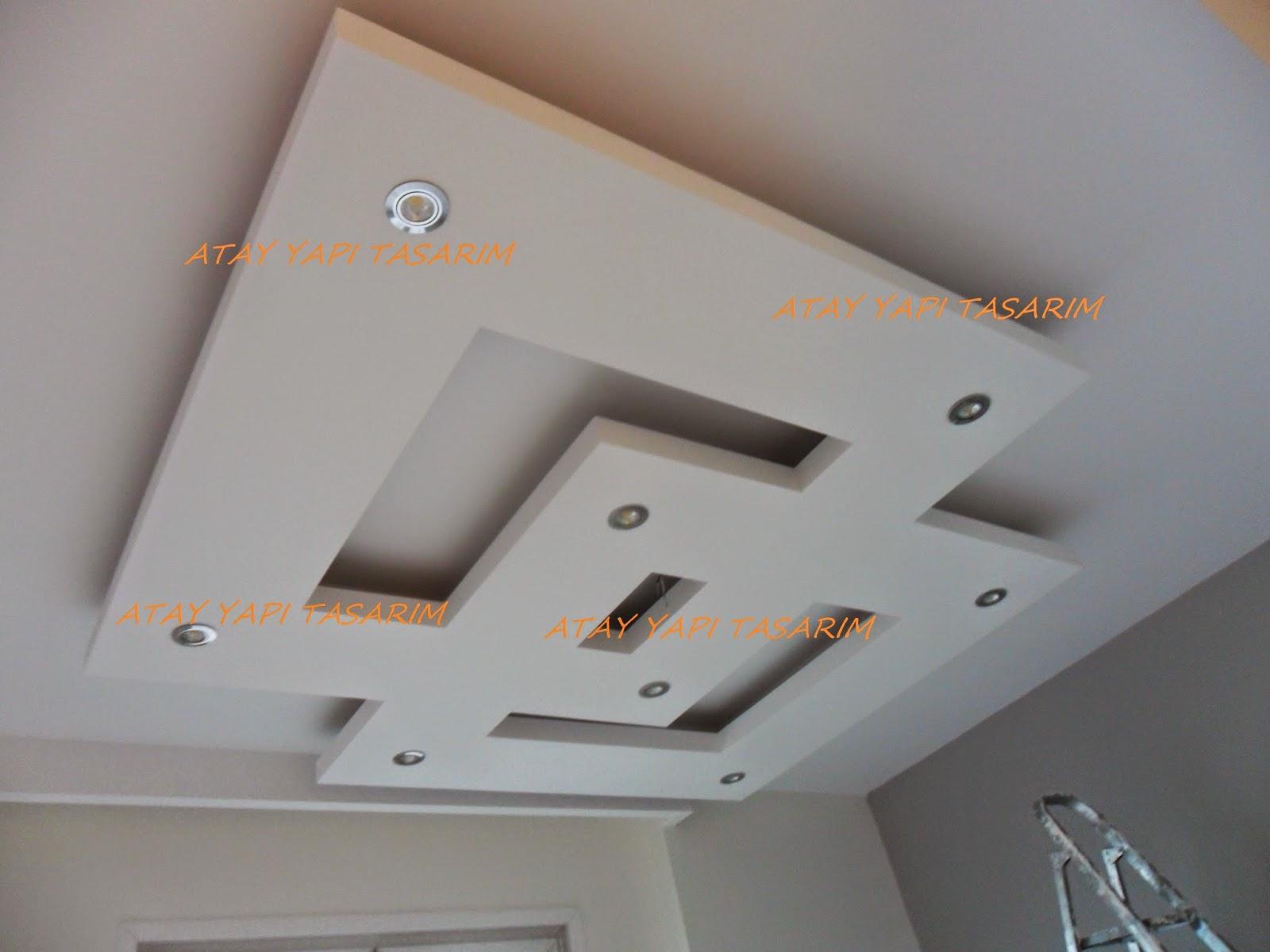 Asma tavan modern resimli isikli ev dekorasyon fikirleri -  Leti Im I In L Tfen Buray T Klay N