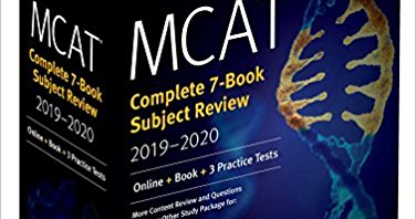 Download MCAT Complete 7-Book Subject Review 2019-2020: Online +