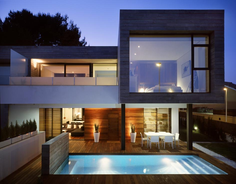 Arquitetura Idea Projeto De Arquitetura Casa Geminada