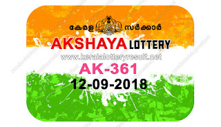 KeralaLotteryResult.net , kerala lottery result 12.9.2018 akshaya AK 361 12 september 2018 result , kerala lottery kl result , yesterday lottery results , lotteries results , keralalotteries , kerala lottery , keralalotteryresult , kerala lottery result , kerala lottery result live , kerala lottery today , kerala lottery result today , kerala lottery results today , today kerala lottery result , 12 09 2018, kerala lottery result 12-09-2018 , akshaya lottery results , kerala lottery result today akshaya , akshaya lottery result , kerala lottery result akshaya today , kerala lottery akshaya today result , akshaya kerala lottery result , akshaya lottery AK 361 results 12-9-2018 , akshaya lottery AK 361 , live akshaya lottery AK-361 , akshaya lottery , 12/9/2018 kerala lottery today result akshaya , 12/09/2018 akshaya lottery AK-361 , today akshaya lottery result , akshaya lottery today result , akshaya lottery results today , today kerala lottery result akshaya , kerala lottery results today akshaya , akshaya lottery today , today lottery result akshaya , akshaya lottery result today , kerala lottery bumper result , kerala lottery result yesterday , kerala online lottery results , kerala lottery draw kerala lottery results , kerala state lottery today , kerala lottare , lottery today , kerala lottery today draw result,