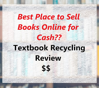 Textbook Recycling Review | Best Place to Sell Books Online for Cash?? textbook buyback make money online college student