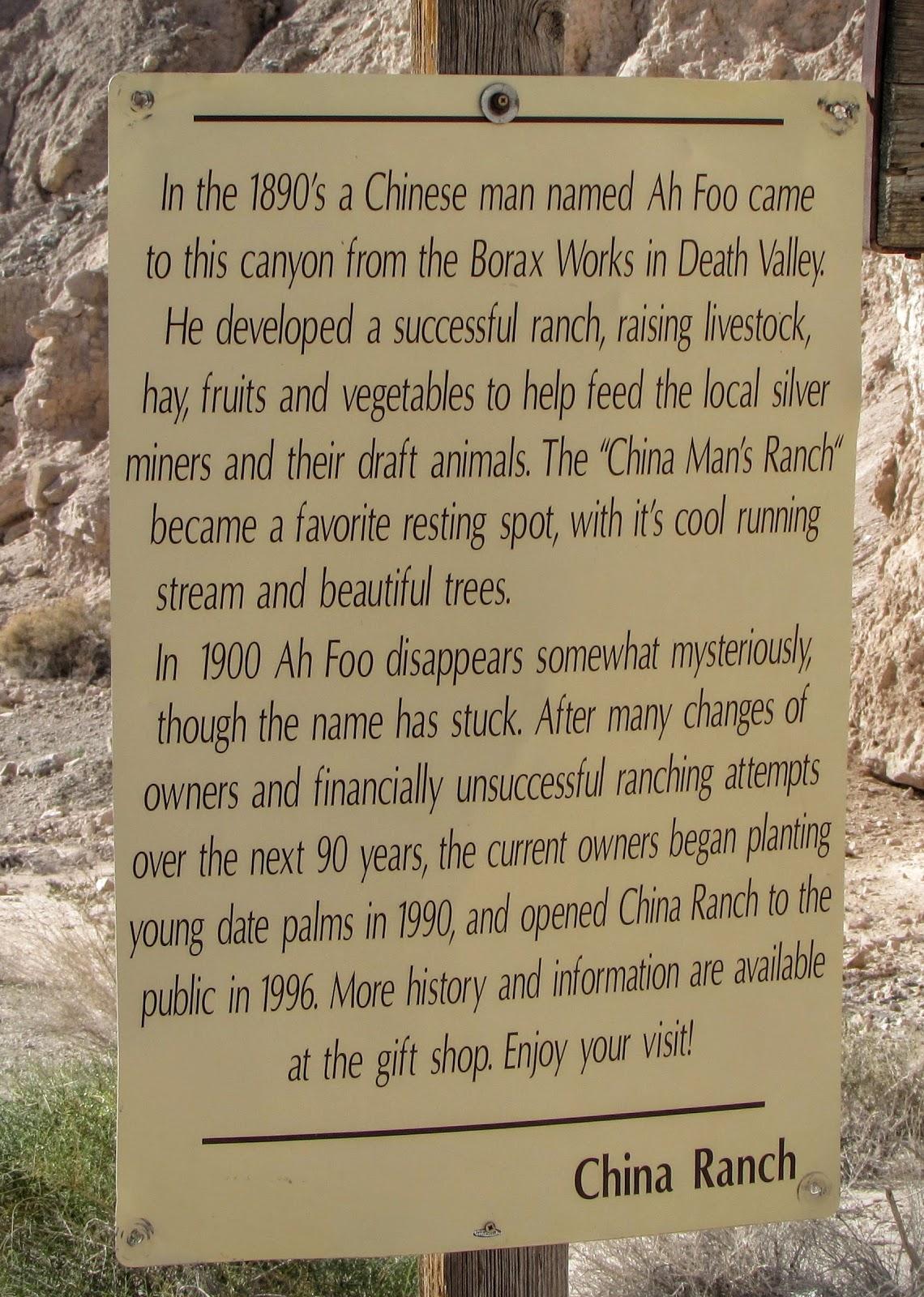 historia de china ranch