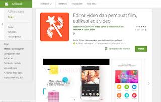 10.Aplikasi Edit Video android 2019 Gratis Kualitas Seperti Profesional