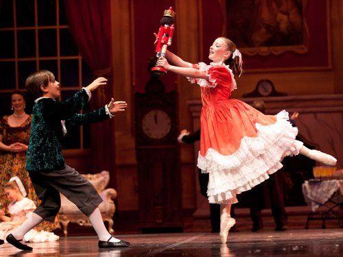 O quebra nozes, Clara figurino Ballet