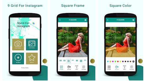 Aplikasi Instagrid untuk Instagram