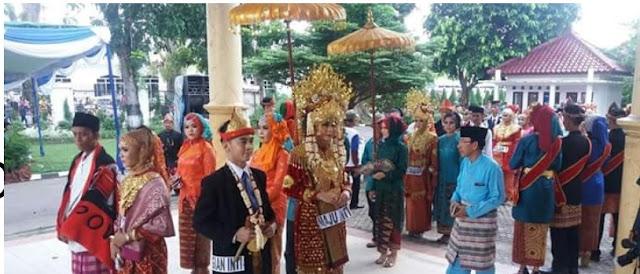 Warisan Budaya, Pemkab OKI Terus Lestarikan Tradisi Midang