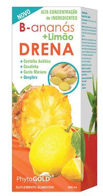 B-Ananás + Limão Drena - PhytoGOLD