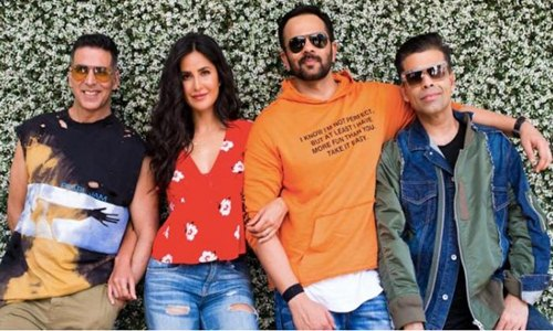 Katrina Kaif and Akshay Kumar's will take you back to 1990s with movie Sooryavanshi