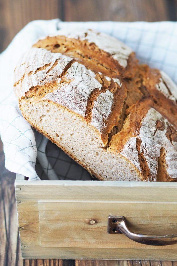 Brot, Kartoffelbrot, Rezept für Brot, hausgemacht, Sauerteig selbst ansetzen