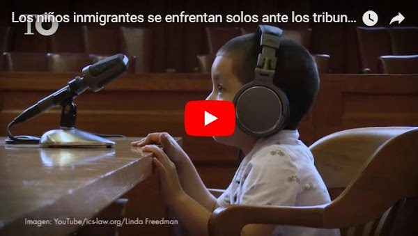 Publican video falso de niños en una corte de los Estados Unidos