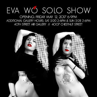 Eva Wǒ Solo Show opens May 12!