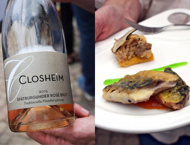 Spätburgunder Rosé brut Sekt vom Weingut Closheim