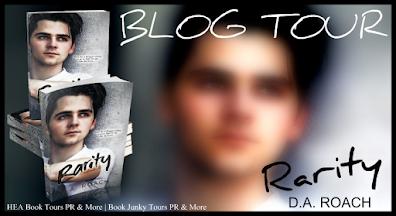 Rarity by DA Roach book blog tour banner