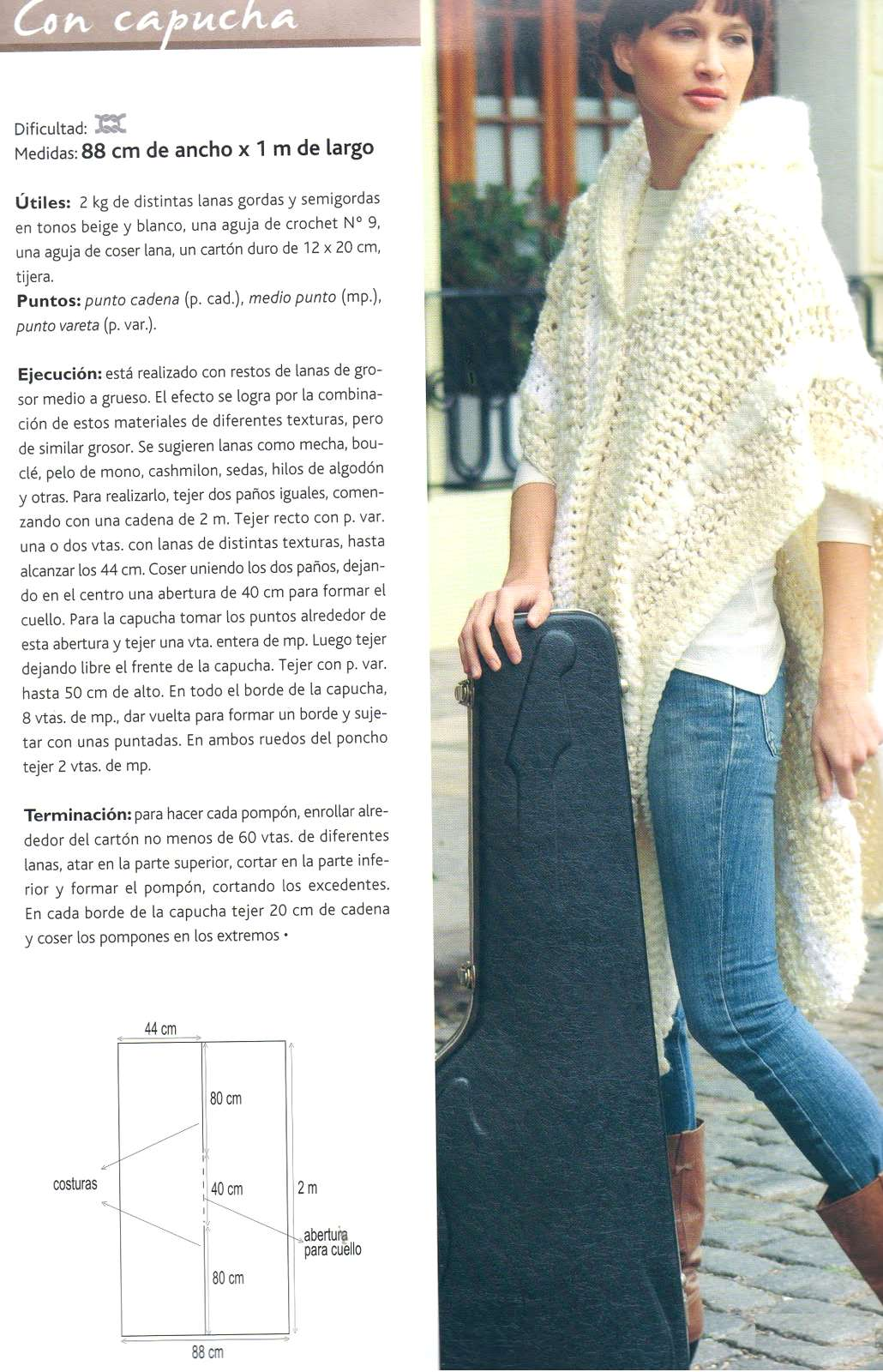 Ponchos Crochet Diagramas - Residential Electrical Symbols •