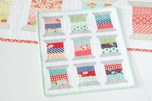 Mini Spools quilt pattern