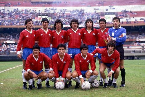 Formación de Chile ante Uruguay, Copa América 1987, 12 de julio