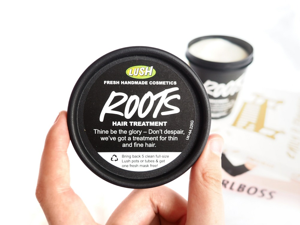 LUSH Roots Hair Treatment review