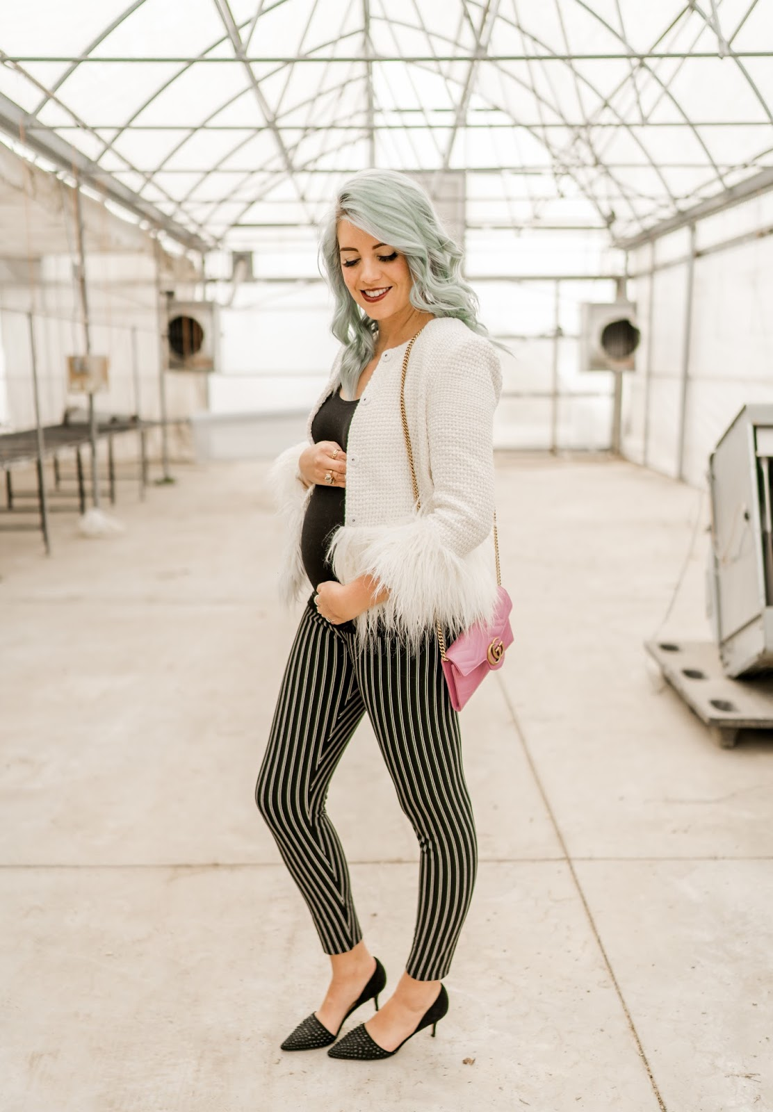Pregnant Girl Style, Winter Outfit, Business Casual