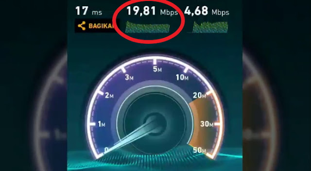 speedtest indihome