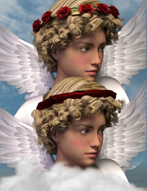 Valentina Hair for Genesis 3 Female