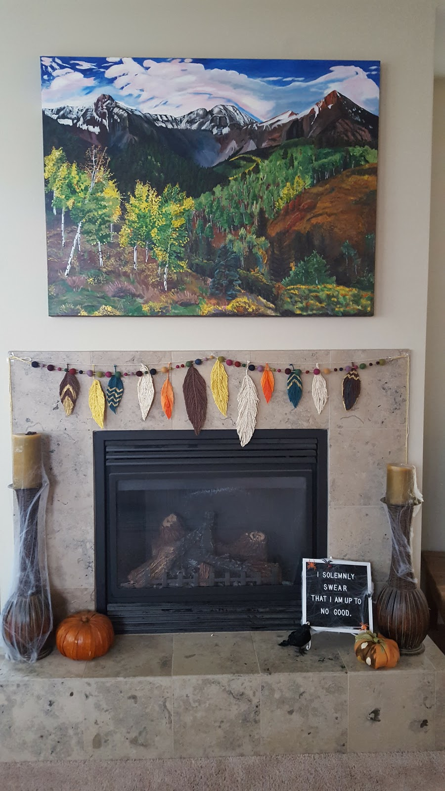 Home Tour Fall And Halloween Decor So Much To Make