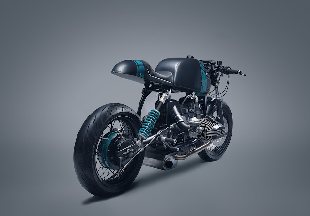 BMW R80 by Elemental Custom Cycles Hell Kustom
