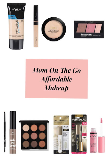 Mom On The Go Affordable Makeup (Beginner Friendly)