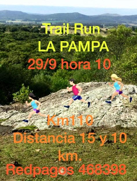 10k y 15k Trail La Pampa en Sierra de las Ánimas (Maldonado, 29/sep/2019)