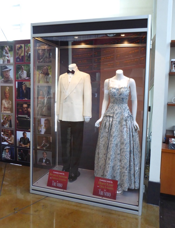 Trumbo film costume exhibit
